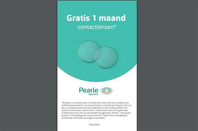 37c953bb1ea3bc Pearle Opticiens afdrukbare kortingsbon - myShopi
