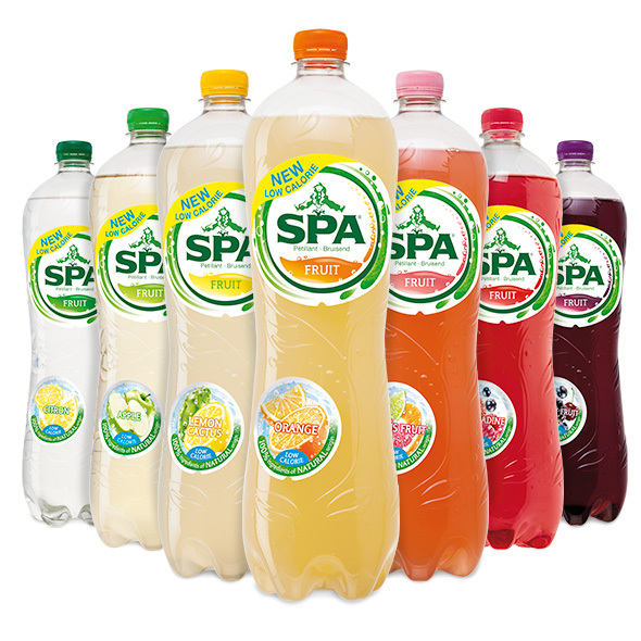 Spa Fruit 2 Packs 4x1,25l