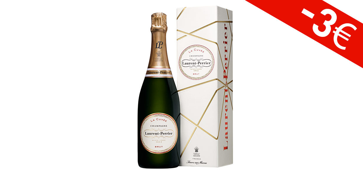 Laurent-Perrier La Cuvée Brut 75 cl