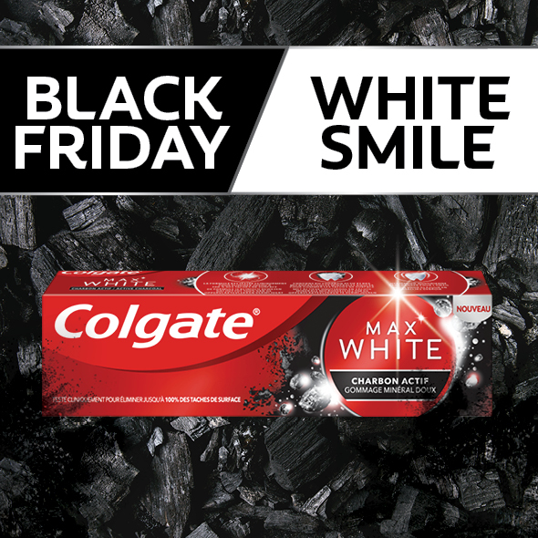 Colgate Max White Active Charcoal