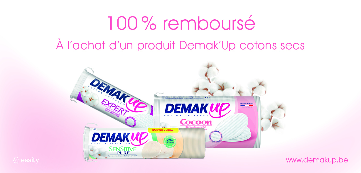 Demak'Up cotons secs