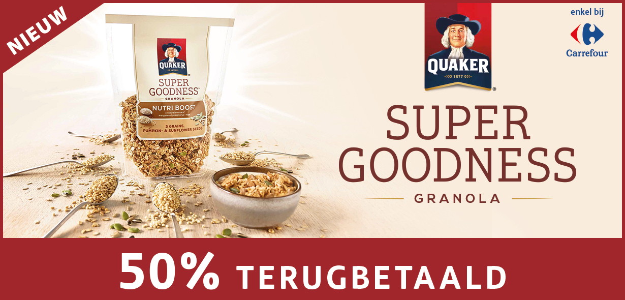 Quaker Super Goodness Granola