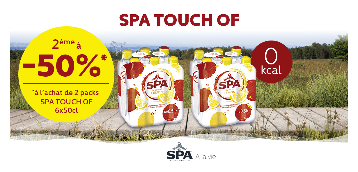 Spa Touch Of 2ème pack -50%