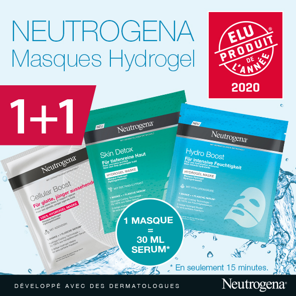 Neutrogena Hydrogel Masques