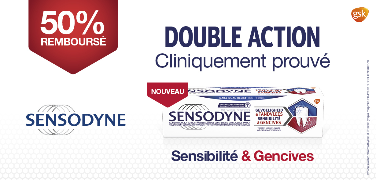 Sensodyne dentrifice