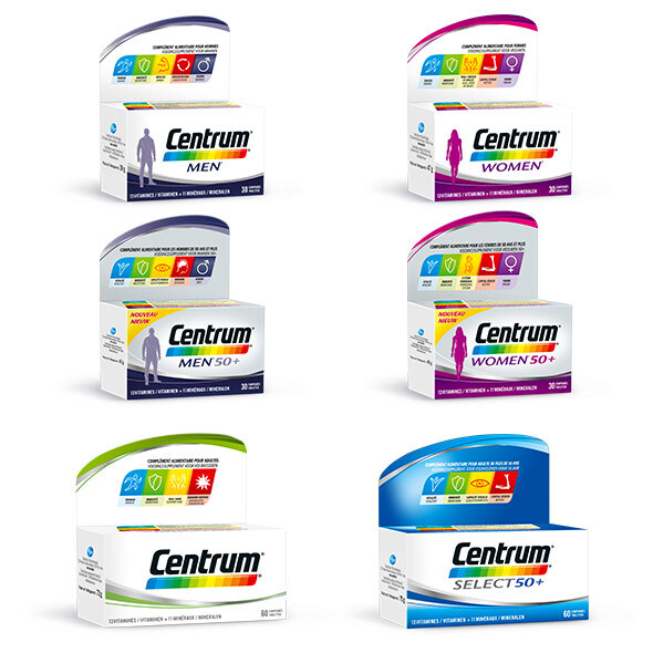CENTRUM Multivitamines