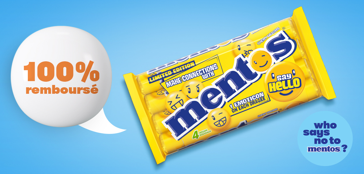 Mentos Say Hello multipack Citron