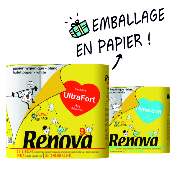 Renova Paper Pack Ultra Fort 9rlx
