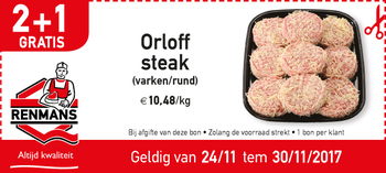 Orloff steak