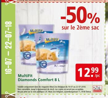 Coupon Maxi Zoo : Multifit FR 16-22-7-2018