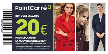 Coupon PointCarré : Coupon de réduction 20 euro