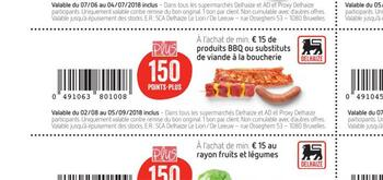 Coupon Delhaize : BBQ