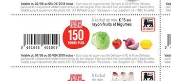 Coupon Delhaize : Legumes
