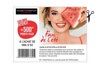 Coupon Delhaize : planet parfum