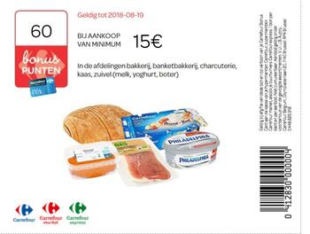 Carrefour kortingsbon : Charcuterie 19-08