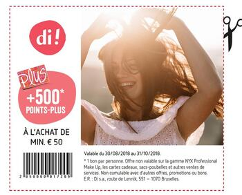 Coupon Delhaize : + points