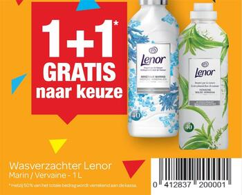 Carrefour kortingsbon : Lenor