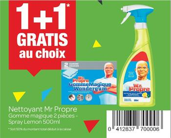 Coupon Carrefour : Mr proper