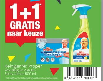 Carrefour kortingsbon : Mr proper