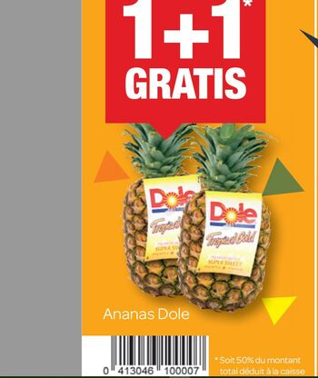Coupon Carrefour : Ananas