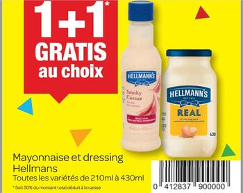 Coupon Carrefour : Hellman