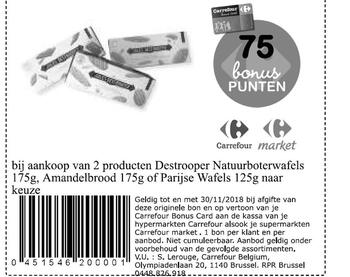 Coupon Carrefour : Destrooper