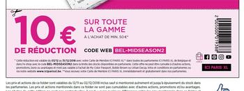 Coupon ICI PARIS XL : Coupon de réduction