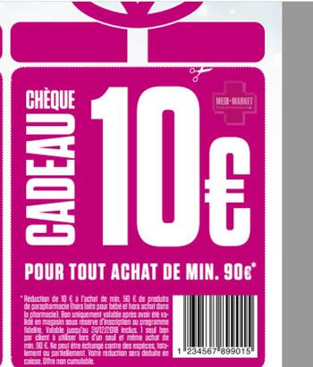 Coupon Medi-Market : Coupon de réduction -10 euros