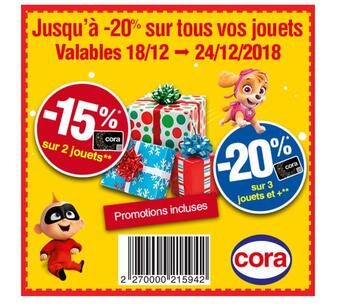 Coupon Cora : Coupon de réduction