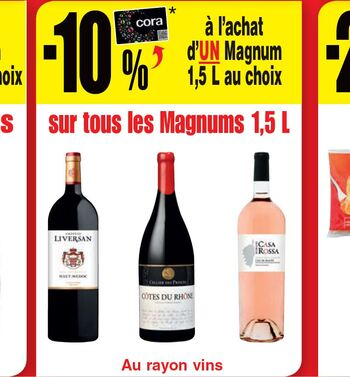 Coupon Cora : Magnums