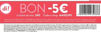Coupon Di : -5€ de réduction