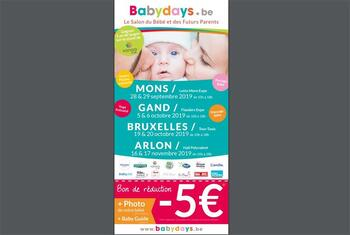 Coupon BabyDays : 5 euro de réduction