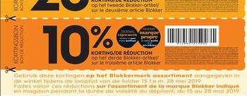 Coupon Blokker : -10%