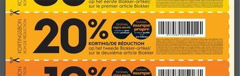 Coupon Blokker : -20%