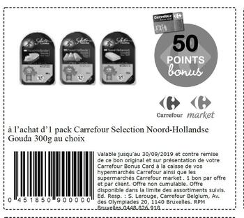 Coupon Carrefour : Gouda