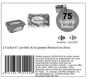 Coupon Carrefour : Benecol