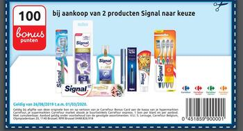 Carrefour kortingsbon : Colgate products