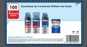 Carrefour kortingsbon : William