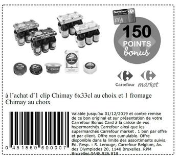 Coupon Carrefour : Chimay