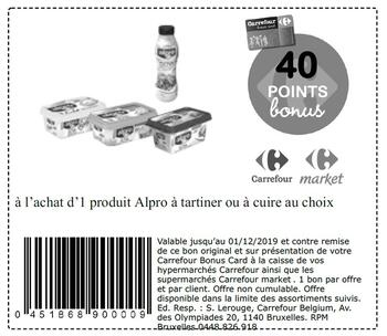 Coupon Carrefour : Alpro