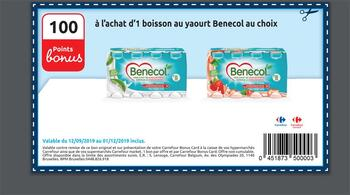 Coupon Carrefour : Yochurt Benecol