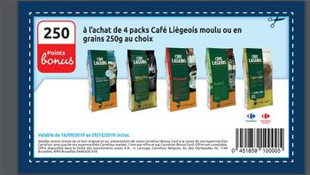 Coupon Carrefour : Café liégeois