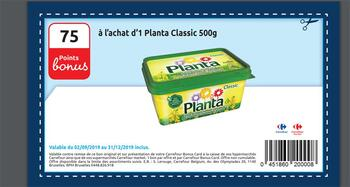 Coupon Carrefour : Planta classic
