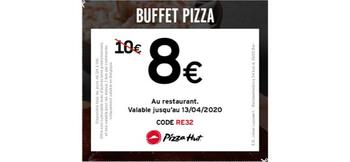 Coupon Pizza Hut : Pizza Buffet