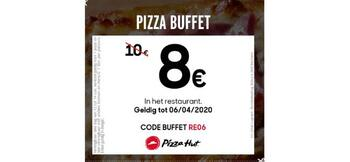 Pizza Hut kortingsbon : Pizza Buffet