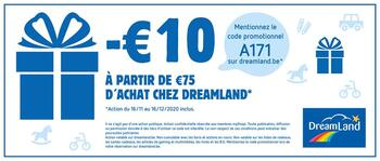 Coupon DreamLand : -10€ de réduction
