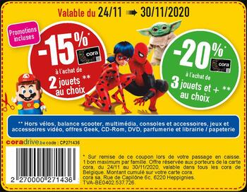 Coupon Cora : Promotions